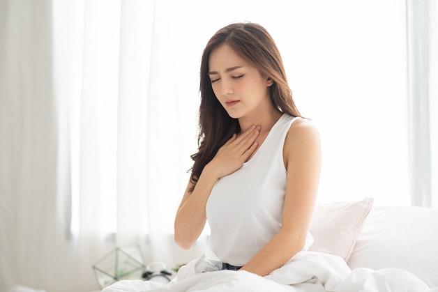 Trào ngược dạ dày khi ngủ là bệnh phổ biến