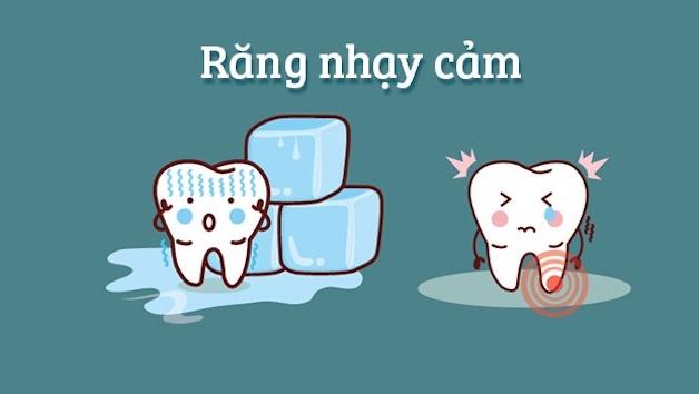 Triệu chứng răng nhạy cảm thường gặp là cảm thấy ê buốt khi ăn những món quá chua, quá ngọt, quá cứng, quá nóng hoặc quá lạnh...