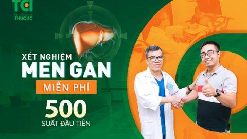 Miễn phí xét nghiệm men gan tại Thu Cúc tháng 3/2021