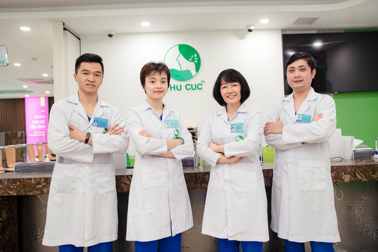 Đội ngũ bác sĩ chuyên khoa Răng hàm mặt - BV ĐKQT Thu Cúc