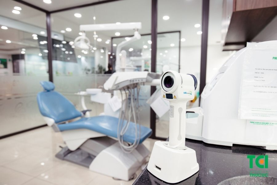 Máy nội soi V scope giúp phát hiện những bất thường tại mô, niêm mạc khoang miệng