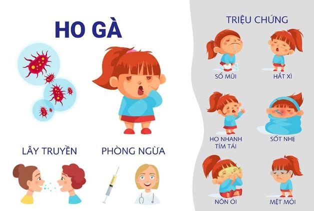 Phần lớn các bậc phụ huynh thường nhầm lẫn bệnh ho gà trẻ em với các bệnh cảm lạnh thông thường. Tuy nhiên, cha mẹ chỉ cần để ý tiếng ho của con là có thể phát hiện được tình trạng bệnh.