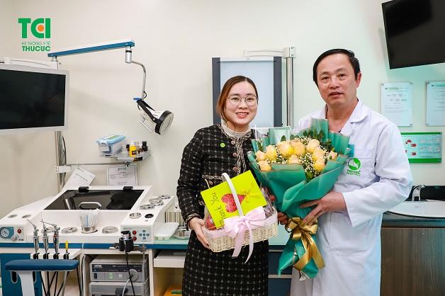 Rất nhiều bệnh nhân vô cùng hài lòng sau khi thực hiện các thủ thuật họng - thanh quản tại bệnh viện ĐKQT Thu Cúc