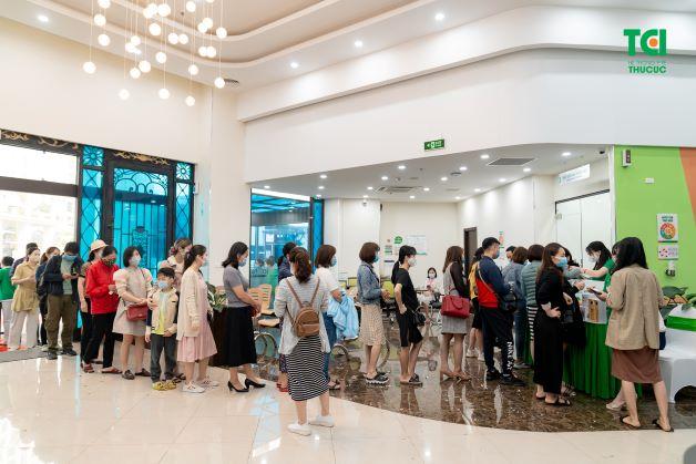 Chương trình bốc thăm trúng thưởng nhận được sự quan tâm của rất nhiều khách hàng