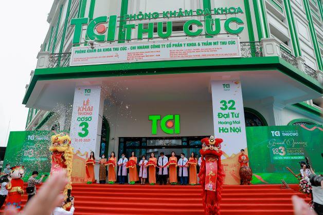 Ngày 18/03/202, Hệ thống Y tế Thu Cúc đã chính thức khai trương cơ sở 3 tại địa chỉ 32 Đại Từ, Hoàng Mai, Hà Nội.