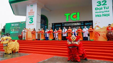 Hệ thống Y tế Thu Cúc TCI chính thức khai trương cơ sở 3 ở phía Nam Hà Nội