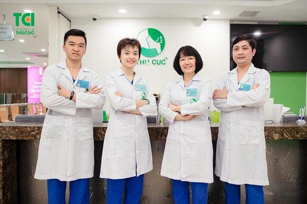 Đội ngũ bác sĩ tại chuyên khoa Răng - Hàm - Mặt tại Bệnh viện Thu Cúc đều là nhwuxng chuyên gia hàng đầu với nhiều năm kinh nghiệm
