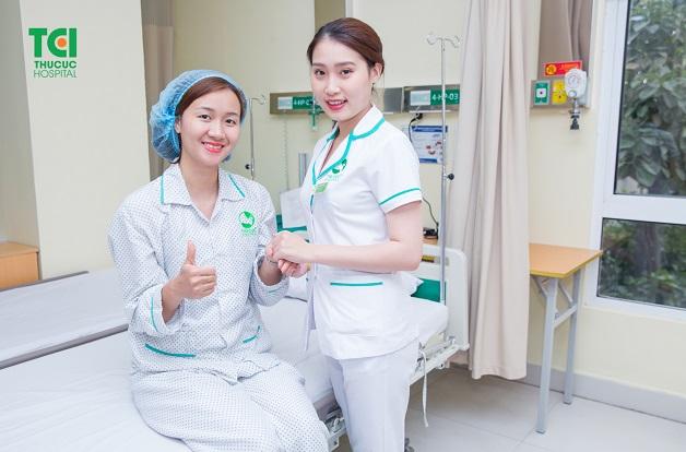 Đa số bệnh nhân đều hài lòng sua khi sử dụng dịch vụ phẫu thuật tại thu Cúc