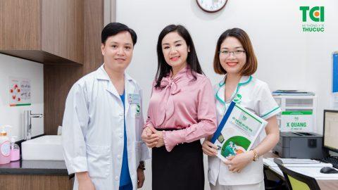 NSND Thu Hà trải nghiệm khám sức khỏe tại Thu Cúc TCI