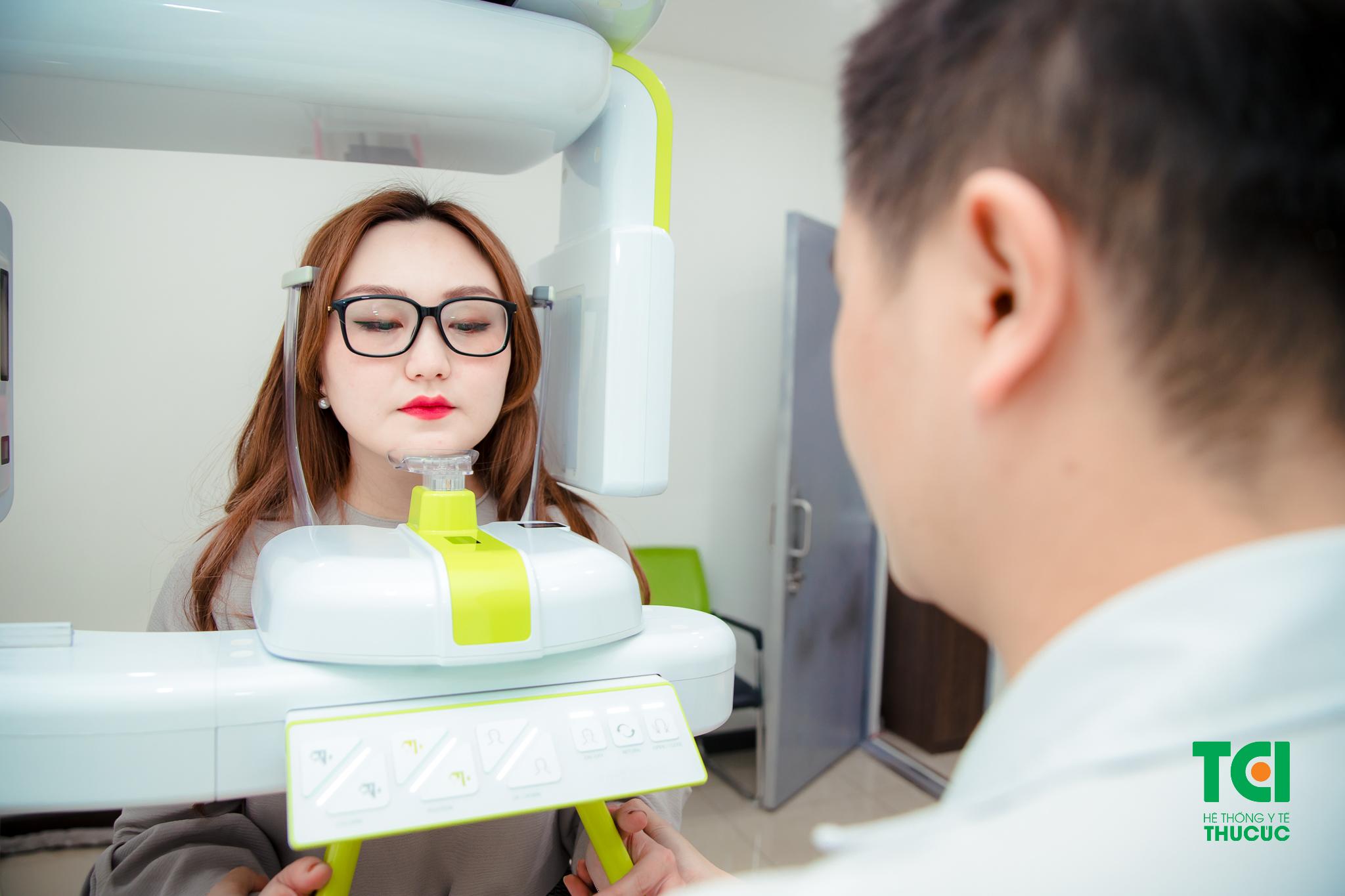 Thiết bị chụp XQuang hiện đại vùng Răng hàm mặt