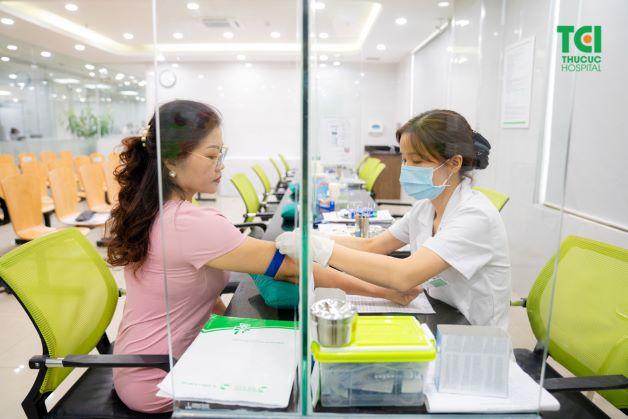 Bệnh nhân sẽ được thực hiện một số các xét nghiệm cần thiết cho cuộc phẫu thuật.