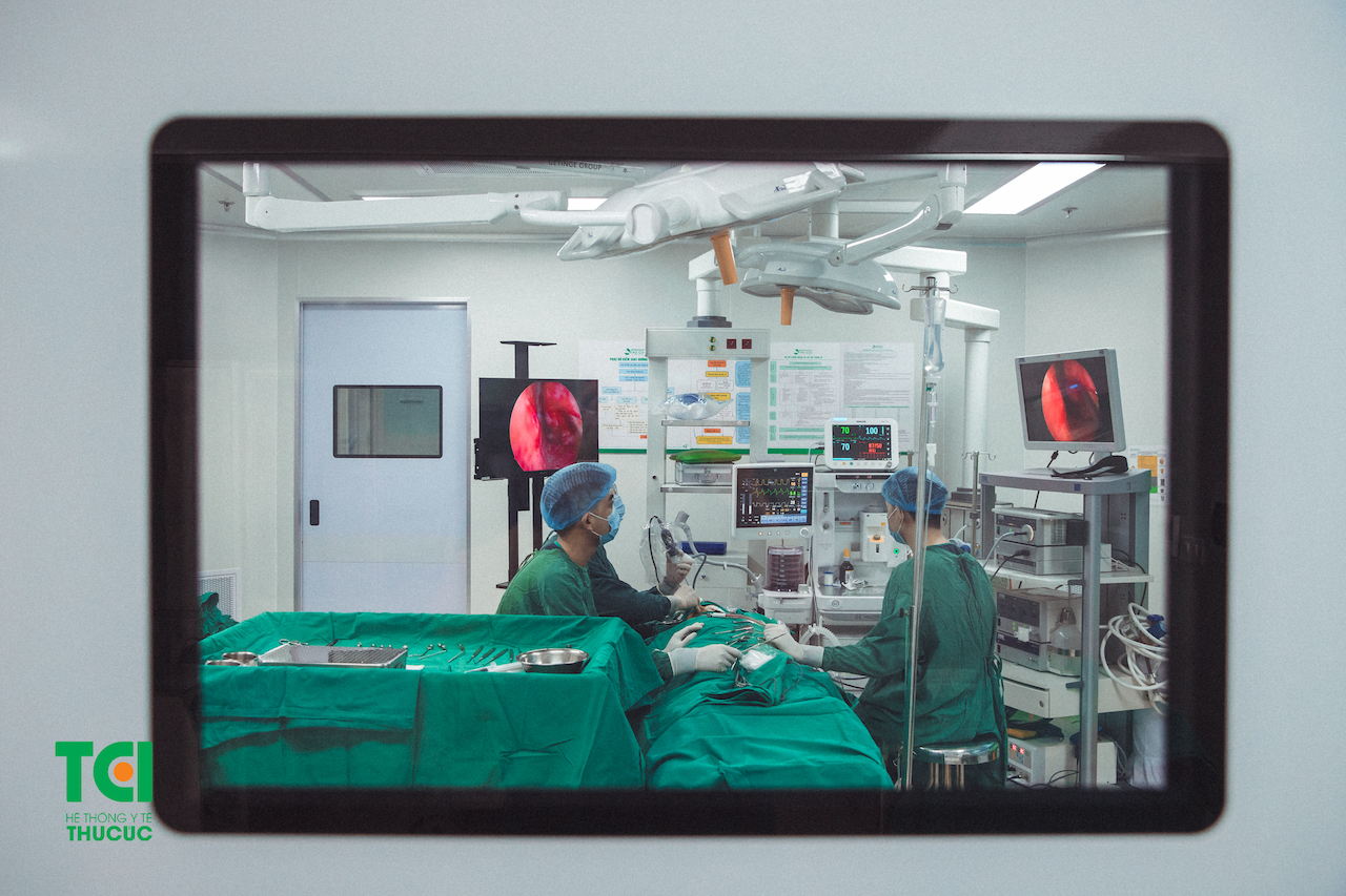 Bệnh viện ĐKQT Thu Cúc không ngừng cập nhật và đầu tư nghiêm túc vào hệ thống trang thiết bị.