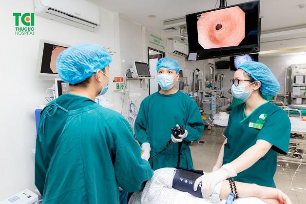 Nội soi dạ dày là phương pháp test vi khuẩn HP phổ biến hàng đầu