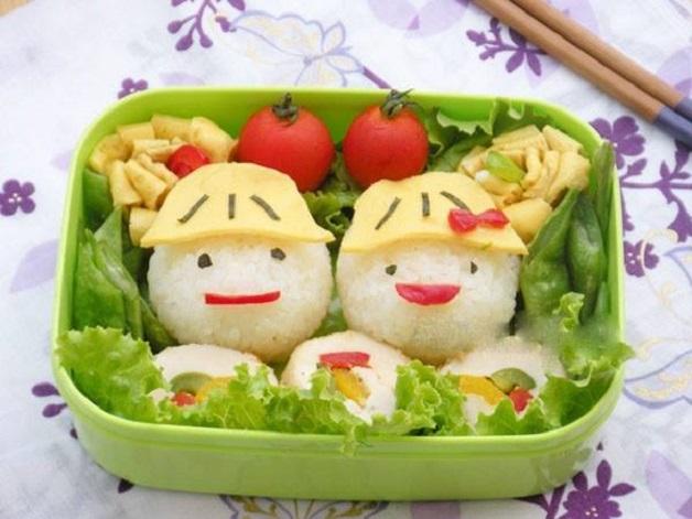 Những món ăn đẹp mắt sẽ giúp cải thiện tình trạng trẻ biếng ăn hay ngậm