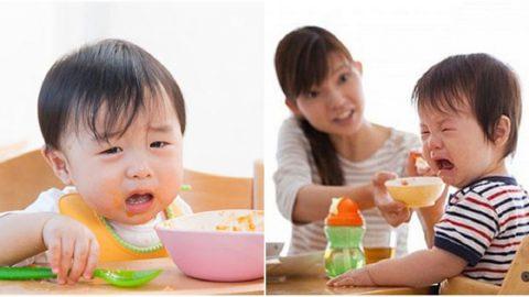 Trẻ biếng ăn hay ngậm mẹ phải làm như thế nào?