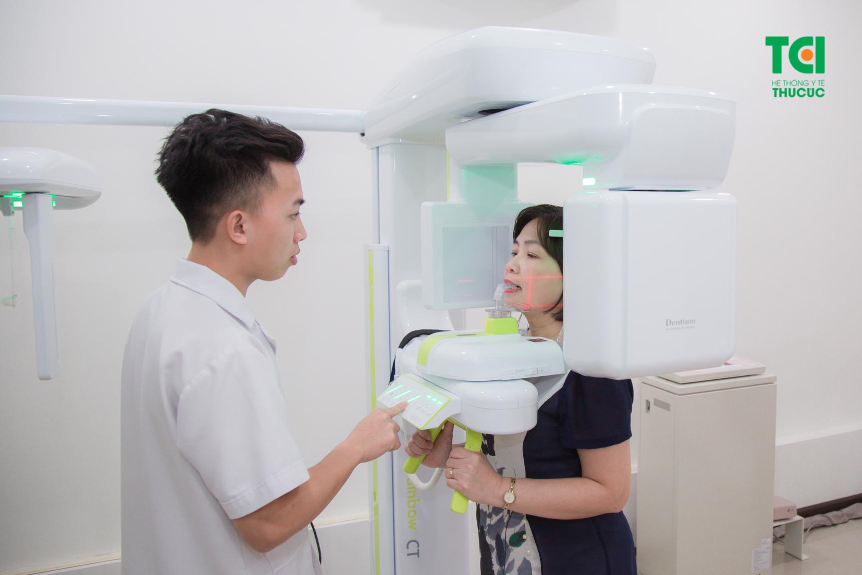 Thiết bị chụp X Quang răng đang được sử dụng trong toàn Hệ thống Y tế Thu Cúc