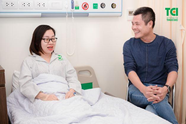 Mổ nội soi giúp bệnh nhân hạn chế đau sau mổ, ít biến chứng nhiễm trùng và được xuất viện sớm.