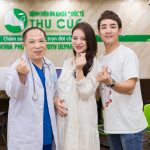 Gia đình diễn viên Đỗ Duy Nam & Ngọc Anh Berry đi khám thai 16 tuần