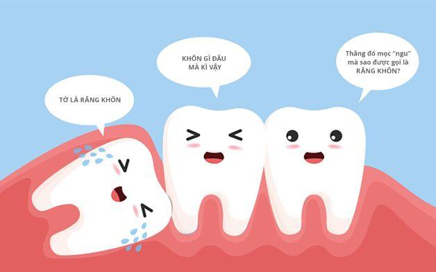Răng khôn chính là răng hàm lớn thứ ba, hay còn được gọi là răng số 8, đồng thờilà chiếc răng mọc cuối cùng trong hàm.