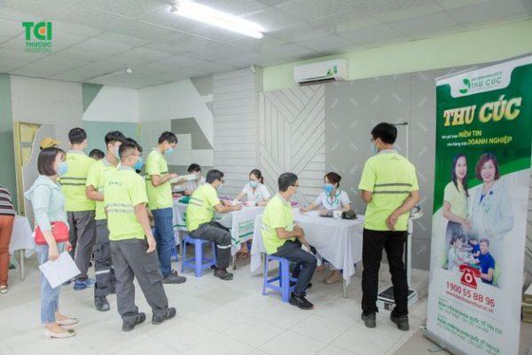 khám sức khỏe cho nhân viên