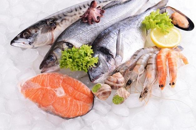 Các loại cá tươi rất tốt cho người bị gan nhiễm mỡ