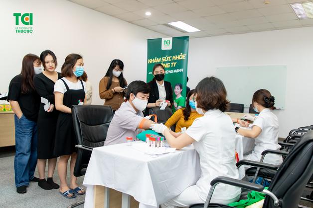quy trình khám sức khỏe định kỳ tại công ty