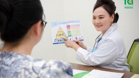 Khám dinh dưỡng cho phụ nữ mang thai và cho con bú