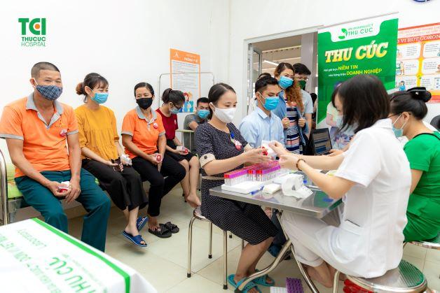 Gói khám sức khỏe cho người lao động