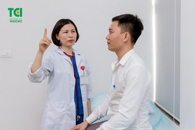 khám và điều trị rối loạn tiền đình tại Thu Cúc