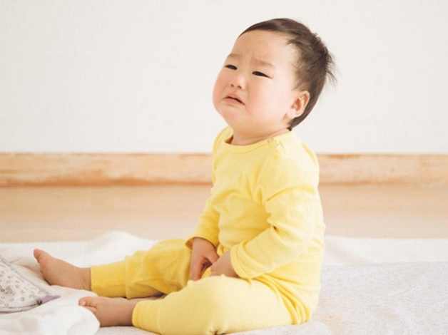 Rất nhiều trẻ 7 tháng tuổi bị táo bón