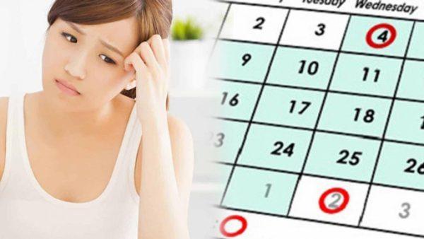 Thói quen sinh hoạt thất thường là một trong những nguyên nhân gây rối loạn kinh nguyệt