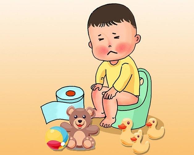Trẻ biếng ăn chỉ uống sữa sẽ dễ bị táo bón bởi vì trong sữa công thức có rất ít chất xơ.