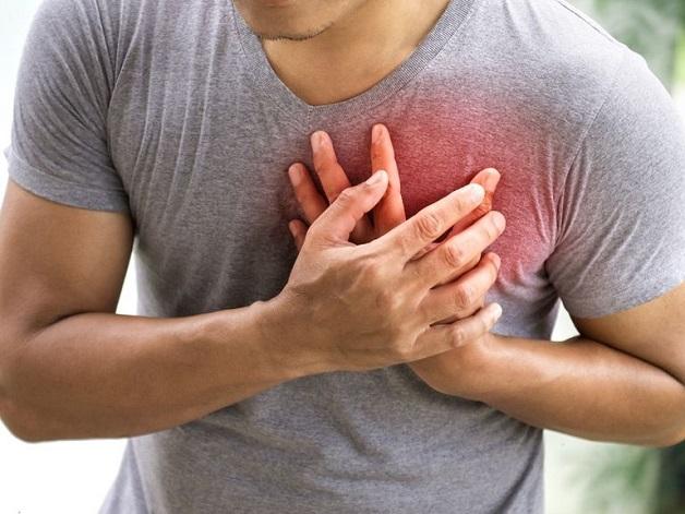 Đau thắt ngực là một triệu chứng điển hình của bệnh