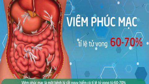 Viêm phúc mạc bệnh học: nguy cơ gây tử vong cao