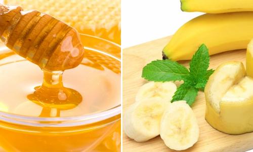 Chuối kết hợp với mật ong sẽ được một bài thuốc chữa đau dạ dày hiệu quả.