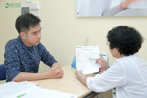 Nếu đau bụng đi kèm các triệu chứng khác, bạn nên đến bác sỹ thăm khám và có hướng xử lý kịp thời