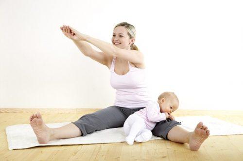 Vận động an toàn là điều nhất định phải biết của mẹ sinh mổ