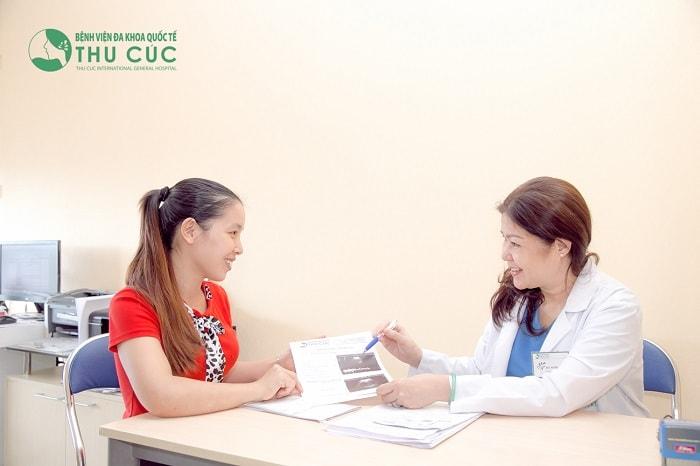 Đến gặp bác sĩ để kiểm tra và xác định nguyên nhân gây bệnh
