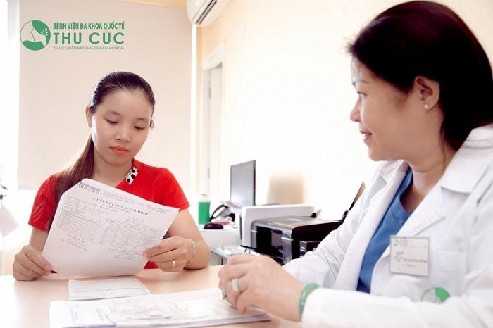 Thăm khám phụ khoa thường xuyên để kịp thời đưa ra hướng khắc phụ