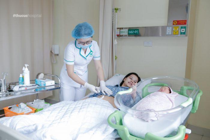 Bệnh viện ĐKQT Thu Cúc mang đến cho mẹ bầu trải nghiệm hoàn toàn khác khi