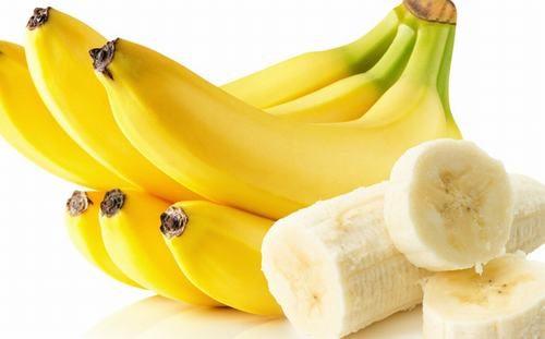 Chuối rất giàu kali giúp bổ sung dưỡng chất cần thiết cho cơ thể