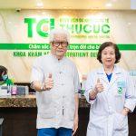 """""""Chủ tịch Cao Dược"""" NSƯT ĐỨC TRUNG  thăm khám tại Bệnh viện ĐKQT Thu Cúc"""