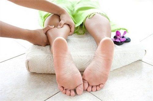 Xoa bóp giúp giảm các cơn đau tại chỗ
