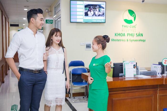 Bệnh viện ĐKQT Thu Cúc được rất nhiều cặp đôi tin tưởng và lựa chọn để thăm khám vô sinh, hiếm muộn