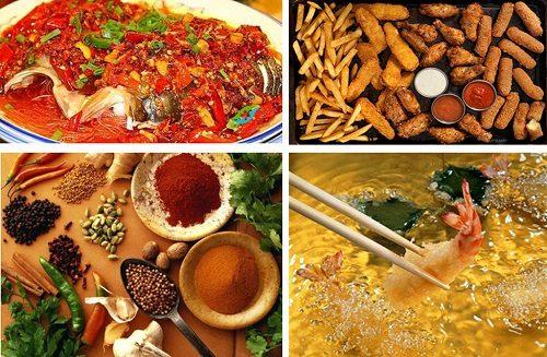 Người bệnh cần kiêng những thực phẩm cay nóng, chế biến sẵn nhiều dầu mỡ vì chúng không tốt cho sức khỏe