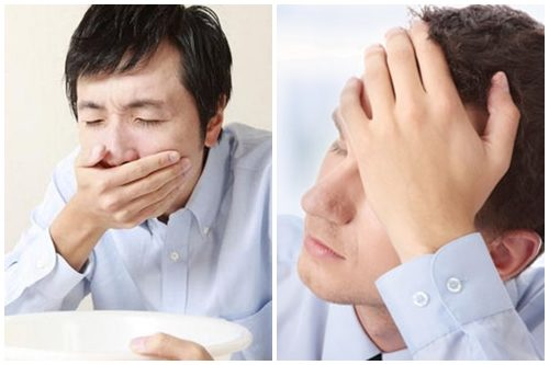 Thường xuyên có cảm giác buồn nôn và nôn cũng là biến chứng sau mổ ung thư dạ dày