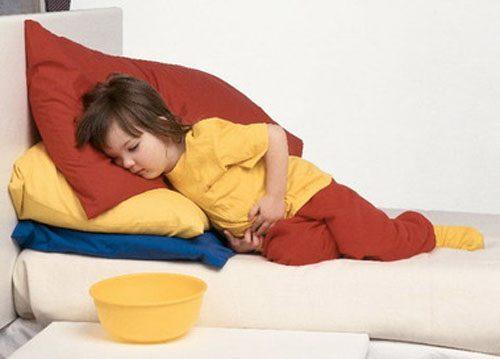 Trẻ bị trào ngược dạ dày thực quản là tình trạng khá phổ biến