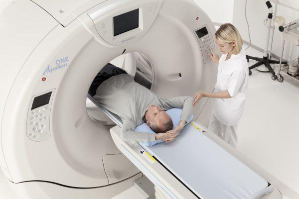 CT scan lồng ngực là một trong các bước tầm soát ung thư phổi