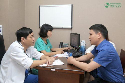 Người bệnh cần tuân thủ theo đúng phác đồ điều trị của bác sĩ để cải thiện sớm tình trạng bệnh