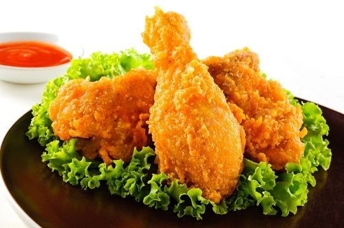 Trong chế độ ăn uống của người đau dạ dày nên hạn chế thực phẩm chiên rán